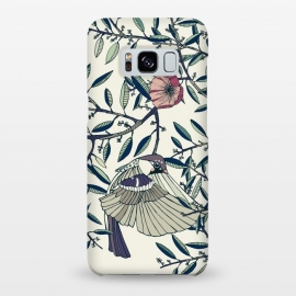 Galaxy S8+  Among the Olive Trees by Stefania Pochesci (Poppies,bird,Branches,nature,vintage,floral,unique,elegant,classy,fashion,phonecase,decor,design,gift,caseiphone,samsungcase,customcase,art,accessories,techaccessories,style,Vintage,Animals)