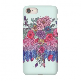 iPhone 8/7  BohoChic Wings on Pale blu by Stefania Pochesci