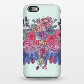 iPhone 6/6s plus  BohoChic Wings on Pale blu by Stefania Pochesci