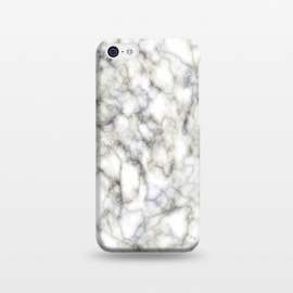 iPhone 5C  Classic Marble by Martina (marble,abstract,modern,stylish,classy,elegant,for her,gift)