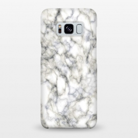 Galaxy S8+  Classic Marble by Martina (marble,abstract,modern,stylish,classy,elegant,for her,gift)