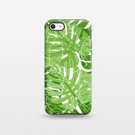 iPhone 5C  Tropical Leaves by Martina