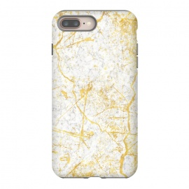 iPhone 8/7 plus  Golden Marble by Martina (marble,classy,elegant,modern,stylish,golden,luxury,classic,stone)