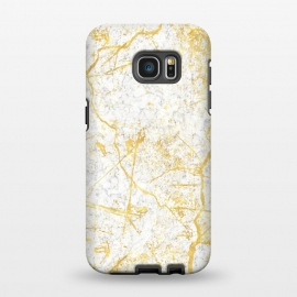 Galaxy S7 EDGE  Golden Marble by Martina