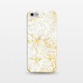 iPhone 5/5E/5s  Golden Marble by Martina