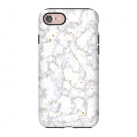 iPhone 8/7  Simply Marble by Martina (marble, stone, modern, fashionable,stylish, unisex,classy,simple,clean,minimalist,gold,texture)