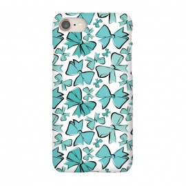 iPhone 8/7  Blue Bows by Martina