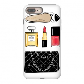 iPhone 8/7 plus  Chanel Accessories by Martina (chanel,luxury,accessories,lipstick,perfume,chanel no5,handbag,designer bag,chanel bag,stylish, modern, fashionable,feminine,girlboss,shoes,flats,ballerina)
