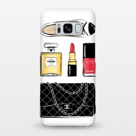 Galaxy S8+  Chanel Accessories by Martina (chanel,luxury,accessories,lipstick,perfume,chanel no5,handbag,designer bag,chanel bag,stylish, modern, fashionable,feminine,girlboss,shoes,flats,ballerina)