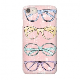 iPhone 7  Funky Glasses by Martina