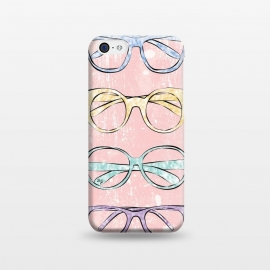 iPhone 5C  Funky Glasses by Martina (vintage,modern,glasses,accessories, fashion,fashionable,stylish,elegant,girlie,feminine,colorful,bright,pink,collection,funky,mod)