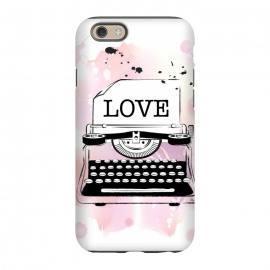 iPhone 6/6s  Love Typewriter by Martina