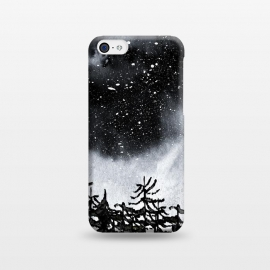 iPhone 5C  Lost by Amaya Brydon (trees,nature,forest,sky,night,stars,black)