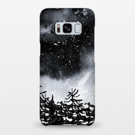 Galaxy S8+  Lost by Amaya Brydon (trees,nature,forest,sky,night,stars,black)