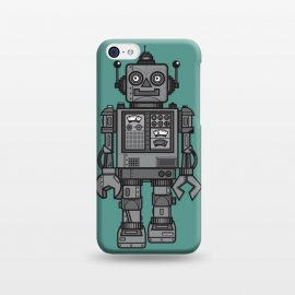 iPhone 5C  A Vintage Robot Friend by Wotto