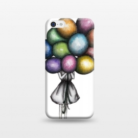 iPhone 5C  Balloon Girl by ECMazur