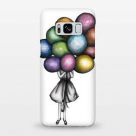 Galaxy S8+  Balloon Girl by ECMazur