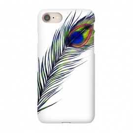 iPhone 8/7  The Peacock's Feather by Elizabeth Mazur