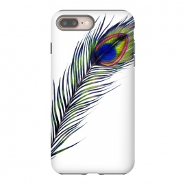 iPhone 8/7 plus  The Peacock's Feather by ECMazur