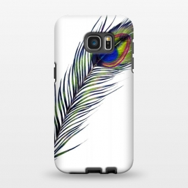 Galaxy S7 EDGE  The Peacock's Feather by ECMazur