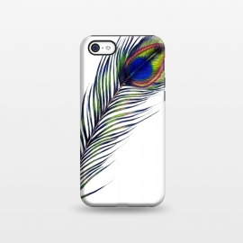 iPhone 5C  The Peacock's Feather by Elizabeth Mazur