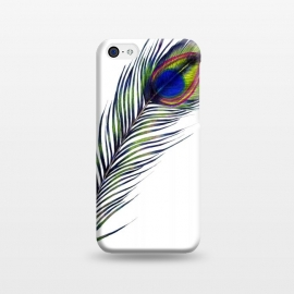 iPhone 5C  The Peacock's Feather by ECMazur