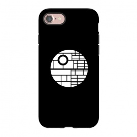 iPhone 8/7  Death Star by Mitxel Gonzalez (death star,movie fan art,minimalist design,design,movie)