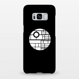 Galaxy S8+  Death Star by Mitxel Gonzalez (death star,movie fan art,minimalist design,design,movie)