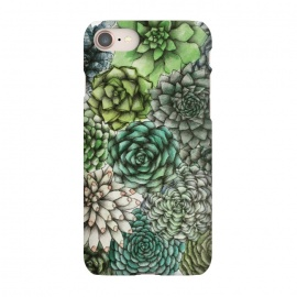 iPhone 8/7  An Assortment of Succulents by Elizabeth Mazur