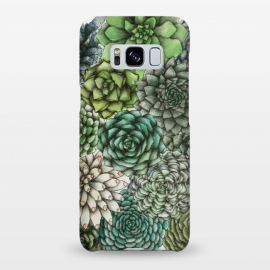 Galaxy S8+  An Assortment of Succulents by Elizabeth Mazur