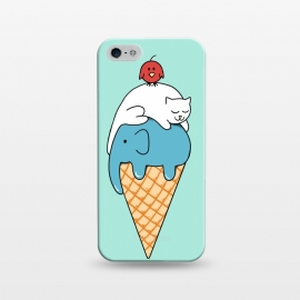 iPhone 5/5E/5s  Animals Ice Cream by Coffee Man