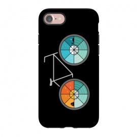 iPhone 8/7  Bicycle Landscape by Coffee Man