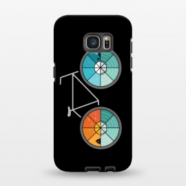 Galaxy S7 EDGE  Bicycle Landscape by Coffee Man