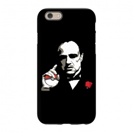 iPhone 6/6s  The Pokefather by Alisterny (pokemongo, pokemon, pokeball, godfather, corleone, vitocorleone, thegodfather,mashup, mashups, funny, popculture, funnytshirt, funnyshirt, tshirt, parody, nerd, geek, geeky, humor, humour, fanart, fan art, movies, movie, film, quotes, cool, design, tee, t-shirt)
