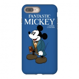 Fantastic Mickey by Alisterny (mickey-mouse, fantastic-beasts, fantasticbeast, mickeymouse, disney, waltdisney, harrypotter, hp, jkrowling, rowling, fantastic-beasts-and-where-to-find-them, wizard, wand, suitcase,mashup, mashups, funny, popculture, funnytshirt, funnyshirt, tshirt, parody, nerd, geek, geeky, humor, humour, fanart,)