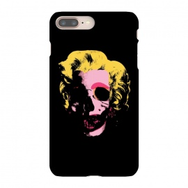 iPhone 8/7 plus  Marilyn Monroe Pop Art Skull by  (andywarhol, popart, modern, warhol, monroe, marilyn, marilynmonroe, skull, skulls,mashup, mashups, funny, popculture, funnytshirt, funnyshirt, tshirt, parody, nerd, geek, geeky, humor, humour, fanart, fan art, movies, movie, film, quotes, cool, design, tee, t-shirt)
