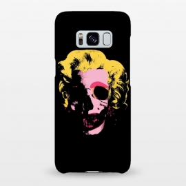 Galaxy S8+  Marilyn Monroe Pop Art Skull by Alisterny