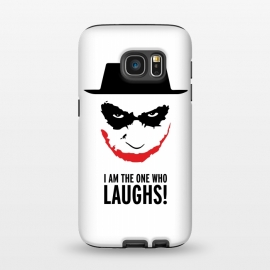 Galaxy S7  Heisenberg Joker I Am The One Who Laughs Breaking Bad Dark Knight  by Alisterny