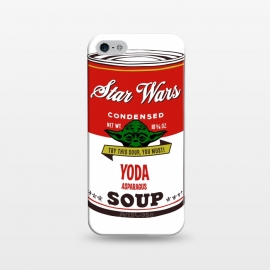 iPhone 5/5E/5s  Star Wars Campbells Soup Yoda by Alisterny