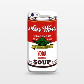 iPhone 5C  Star Wars Campbells Soup Yoda by Alisterny