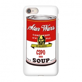 iPhone 8/7  Star Wars Campbells Soup C3PO by Alisterny