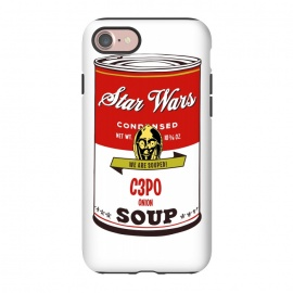 iPhone 7  Star Wars Campbells Soup C3PO by Alisterny