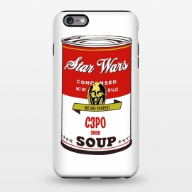 iPhone 6/6s plus  Star Wars Campbells Soup C3PO by Alisterny
