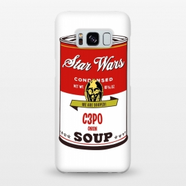 Galaxy S8+  Star Wars Campbells Soup C3PO by Alisterny