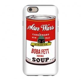 iPhone 6/6s  Star Wars Campbells Soup Boba Fett by Alisterny