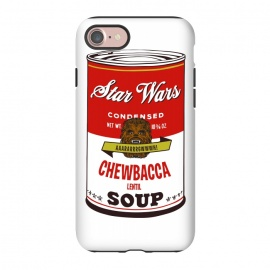 iPhone 8/7  Star Wars Campbells Soup Chewbacca by Alisterny
