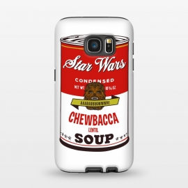 Galaxy S7  Star Wars Campbells Soup Chewbacca by Alisterny