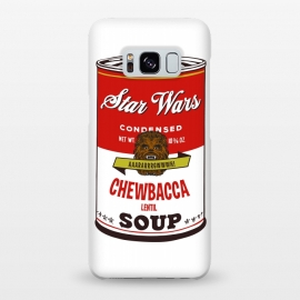 Galaxy S8+  Star Wars Campbells Soup Chewbacca by Alisterny
