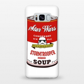 Galaxy S8+  Star Wars Campbells Soup Stormtrooper by Alisterny