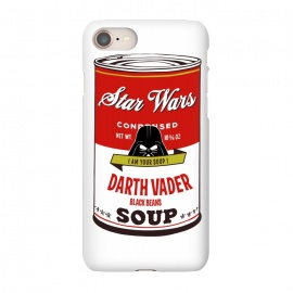 iPhone 7  Star Wars Campbells Soup Vader by Alisterny